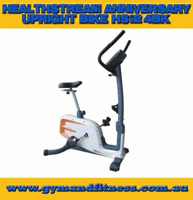 For Sale Healthstream HS12.4BK Upright Bike (Programmable/Step Through) - Anniversary Range