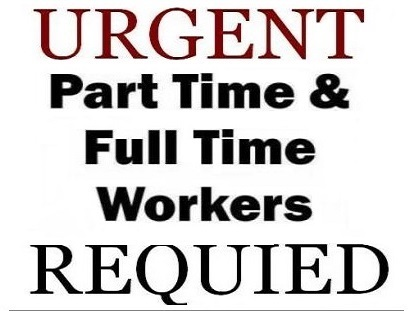 Part Time and Data Entry Work With Cash Pay.