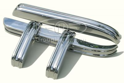 Jaguar XK120 XK 120 brand new stainless steel bumpers