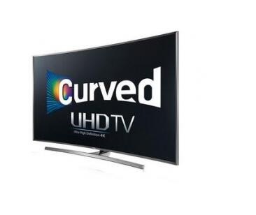 Samsung 4K UHD JU7500 Series Curved Smart TV