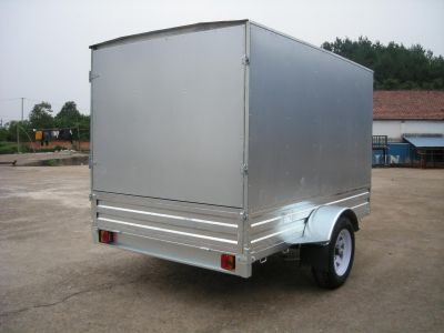 7 X 5 Hot Dipped Galvanized Enclosed Box Trailer for Sale