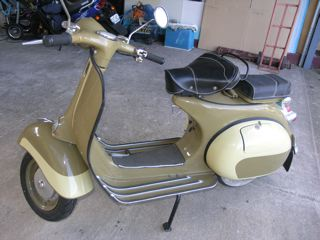 Vespa Piaggo 1965 VBB 150ccm engine (collectors item)