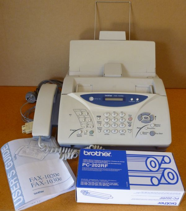 BROTHER 1030e Fax/Phone/Answering Machine/Copier