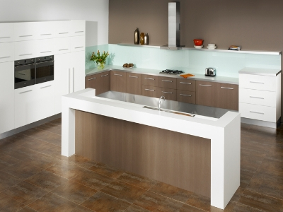 Get Spacious Kitchen Designs for Using the Space Most Fittingly