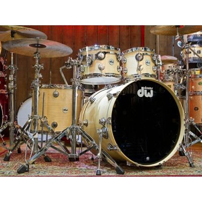 DW Collectors Series 4 Piece Shell Pack in Natural Satin