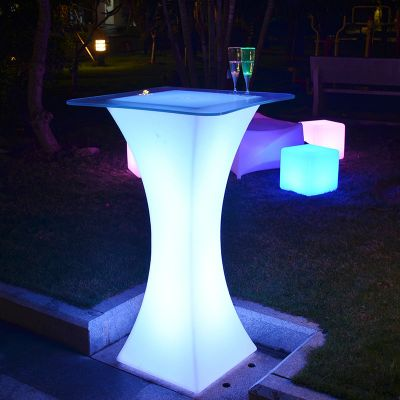 led illuminated furniture for disco, nightclub, pub, events