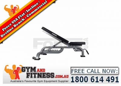 For Sale Force USA Semi Commercial Flat/Incline Bench