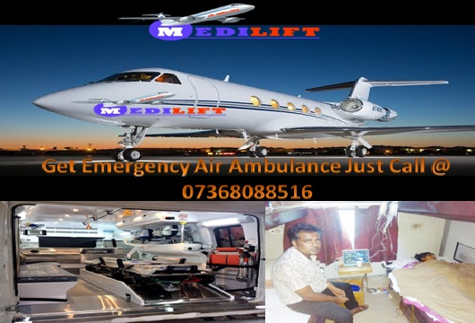 Life-Saving Charter Air Ambulance from Patna to Delhi by Medilift