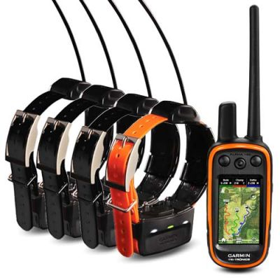 FOR SALE Garmin Alpha 100 GPS Training & Tracking Collar (5-Dog Combo)
