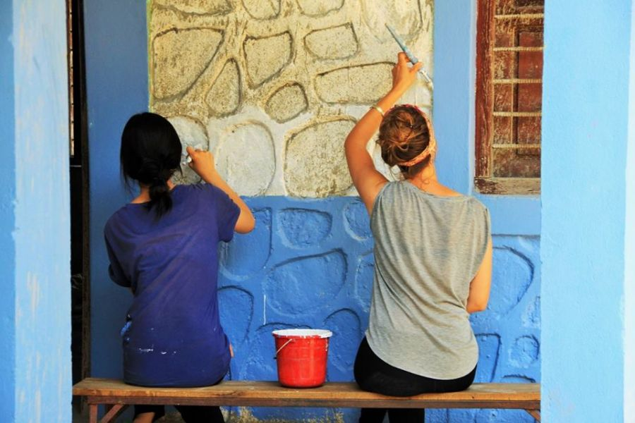 Come and help EHN paint its third school in Nepal