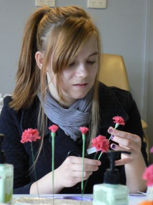Clay Flowers workshops/tutorials/Classes