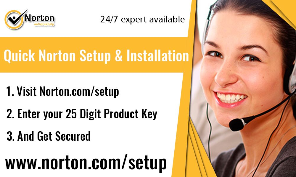 Norton.com/setup - How To Activate Norton