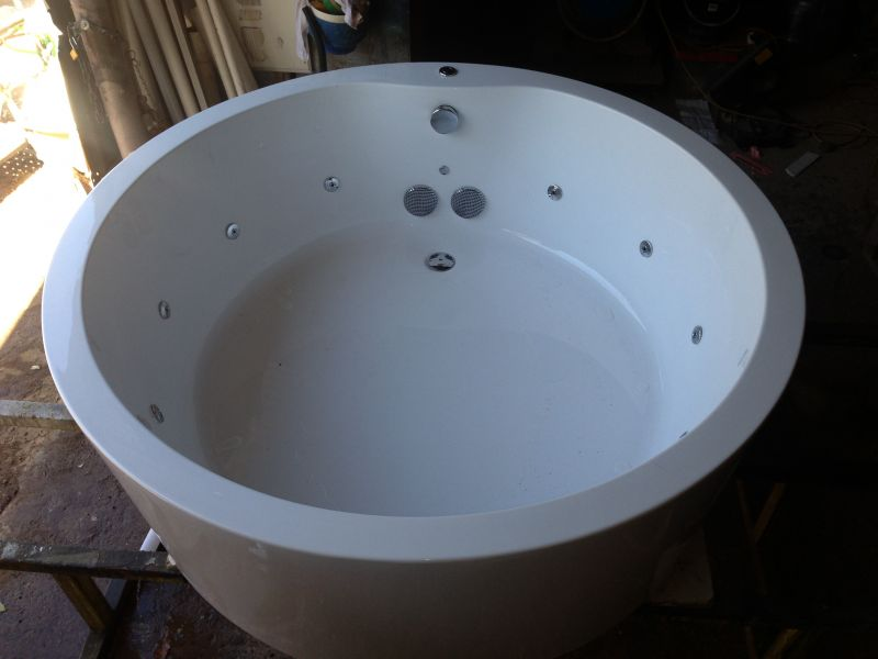 Freestanding spabath spa bath tub