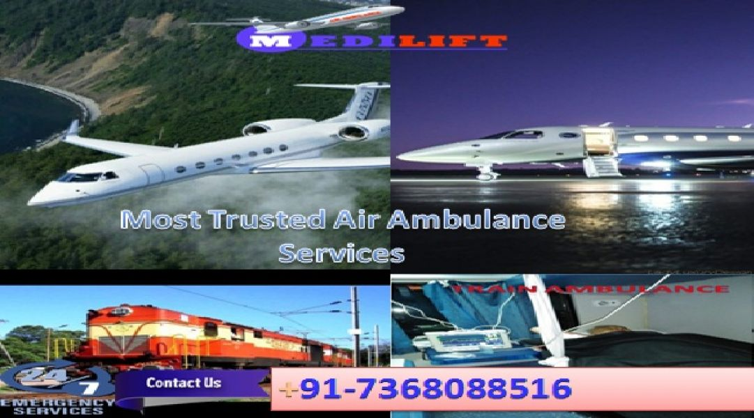Reliable and Secure Patient Transfer Air Ambulance Service in Patna