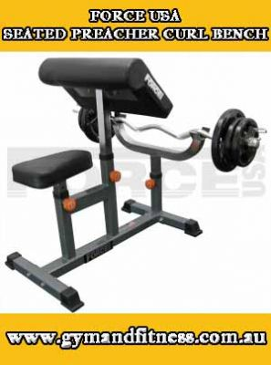 For Sale Force USA Seated Preacher Curl Bench