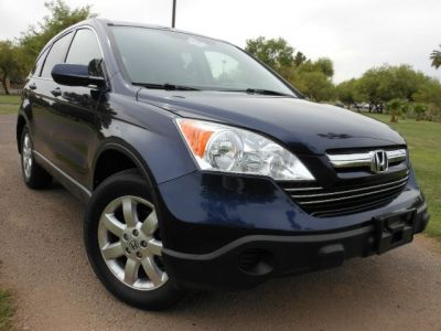 2007 Honda CRV EX-L 4x4 Navi DVD Leather
