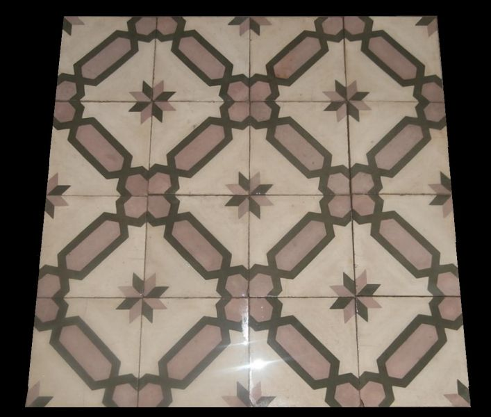 Genuine spanish patterned floor tiles
