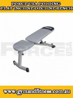 For Sale Force Usa Folding Flat Incline Decline Bench