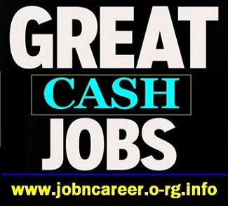 Urgent Staff Wanted For Great CASH Jobs.