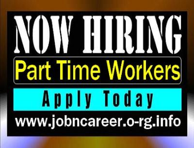 Part Time Staff Required (Cash Vacancies)