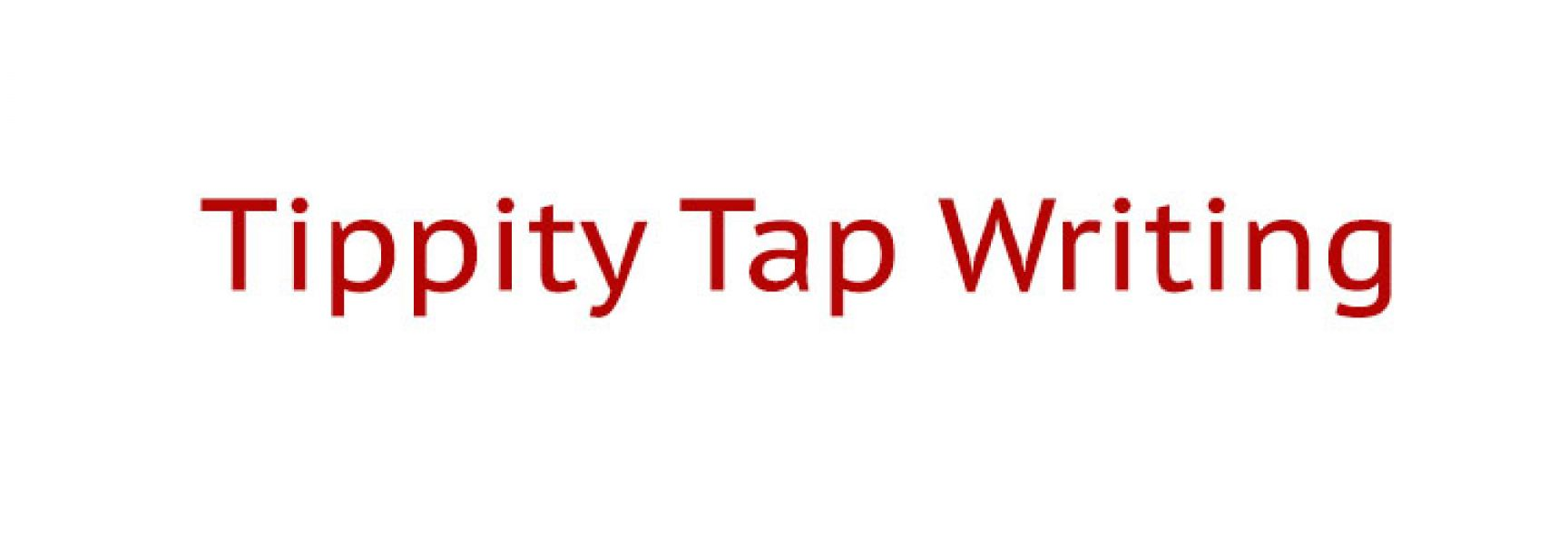Tippity Tap Writing for Words that Sell