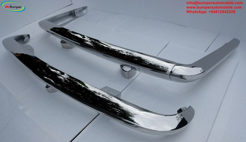 Triumph TR6 bumpers (1969-1974) by Stainless steel