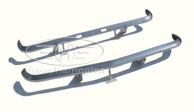 Opel Manta A Series brand new stainless steel bumpers