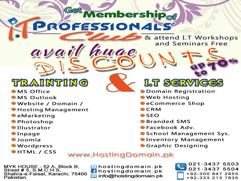 IT Training And IT Services IT Professionals.Club