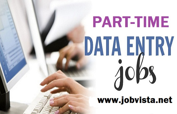 Part Time and Data Entry Employees Needed.