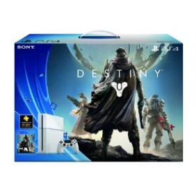 PlayStation 4 White Console Destiny Bundle