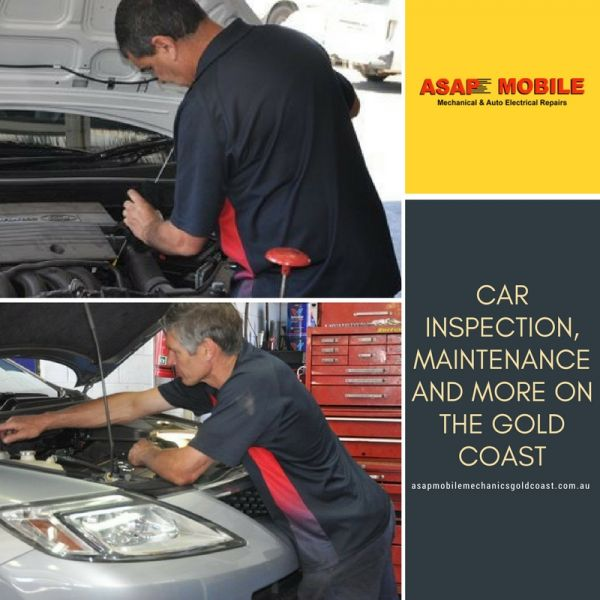 Asap Mobile Mechanics - Car Inspection, Maintenance and More on The Gold Coast
