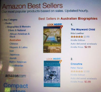 Amazon Best Seller The Wayward Child by Rita Lowther