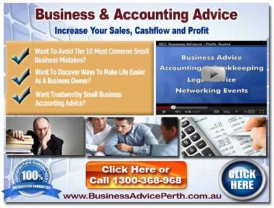 Tax Accountants Perth For Small Business ph. 1300 368 986