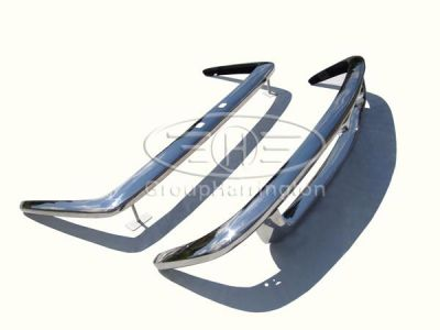 Maserati Mistral brand new stainless steel bumpers