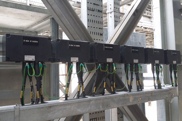 Explosion proof distribution panel supply