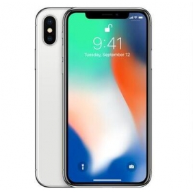 Apple iPhone X - 256GB - Silver Factory Unlocked