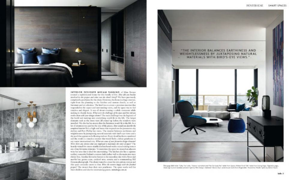 Press: Mim Design in Belle Magazine