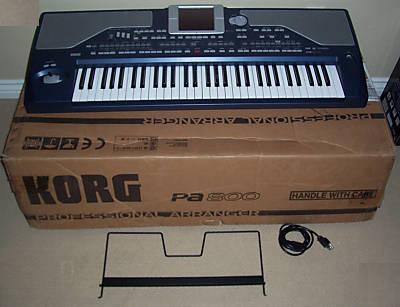 Korg M50-88 - 88-Key Synthesizer Workstation with Weighted Keys $650USD