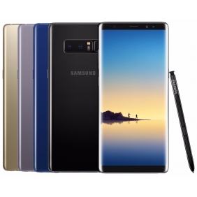 Samsung Galaxy Note 8 SM-N950 64GB (FACTORY UNLOCKED) 6.3' Black Gold Blue Gray