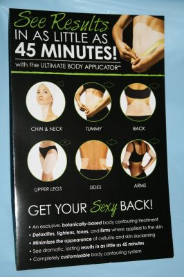 Ultimate Bodywrap Applicator tightens, tones firms!
