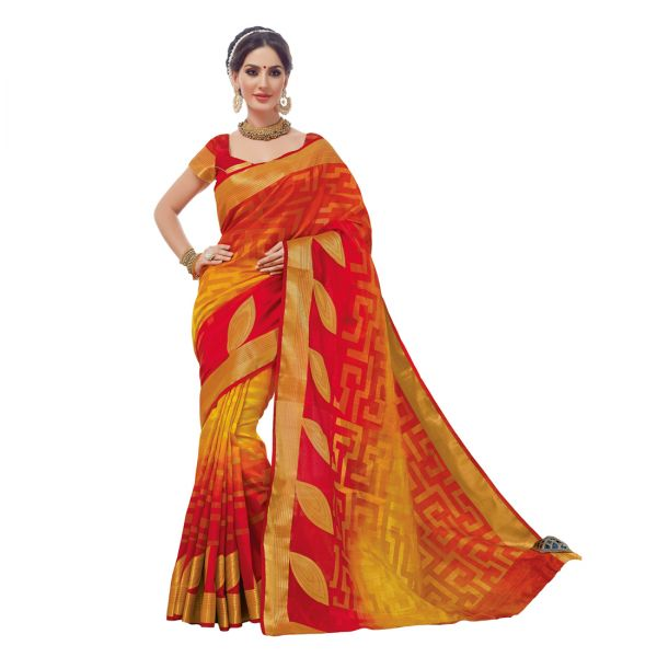 Shop Ladies Kanchipuram Silk sarees Online At Upto 70% Off