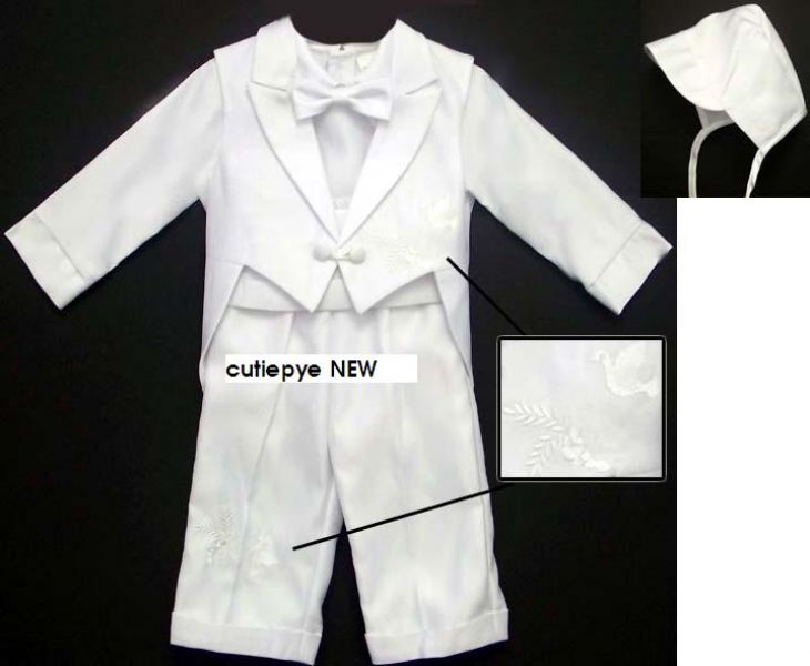 Christening bridal satin suits reduced from 130 to 85 ring 0427820744
