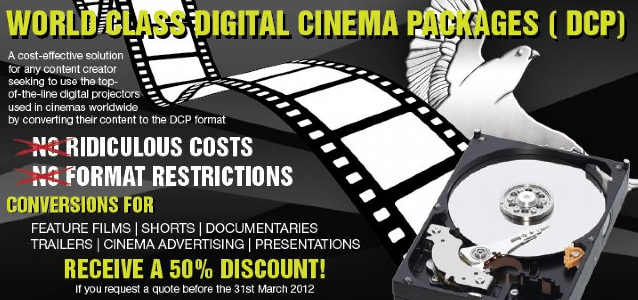DCP Video To Cinema Conversion