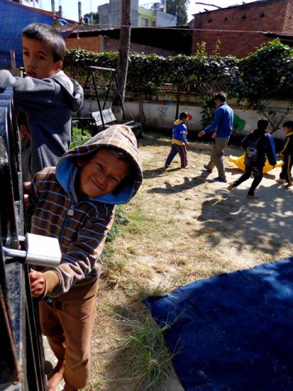 Volunteer in a disabled childrens centre in Nepal