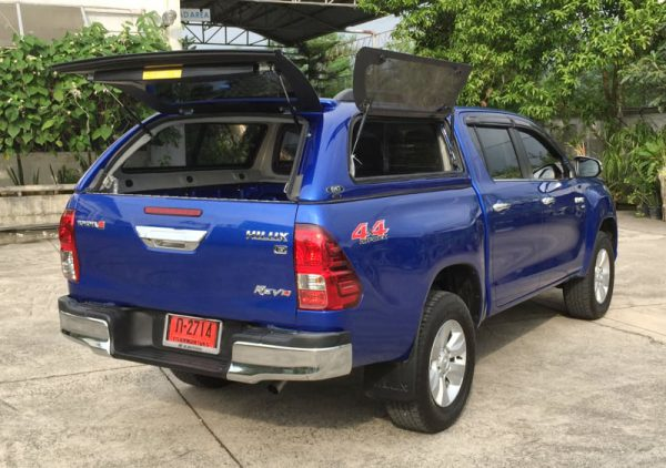 Robust & Hand Molded Toyota Hilux Canopy from Delux 4x4 Accessories