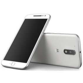 Launch Motorola Moto G Plus 4th Gen White Unlocked Dual Sim 5.5inch 16GB 4G