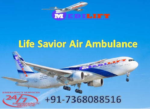 Very Low-Cost ICU Emergency Air Ambulance Service in Kolkata