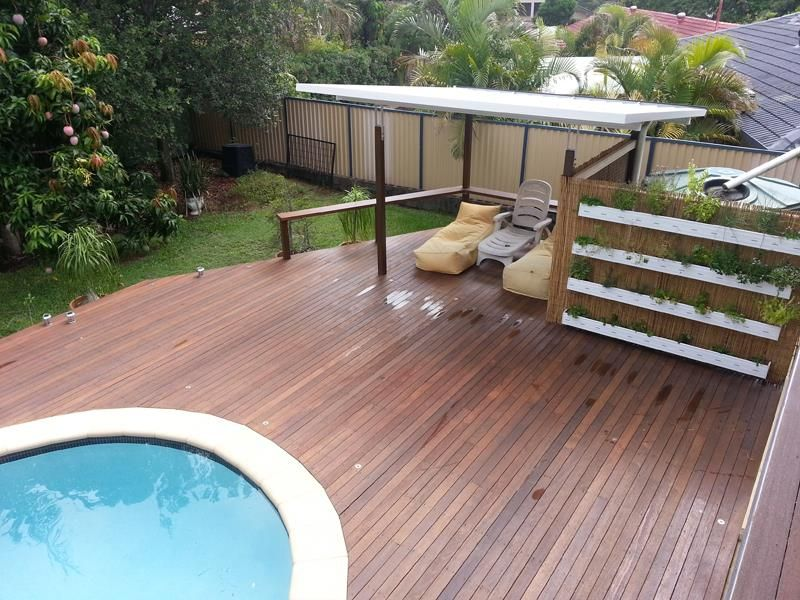 Outdoor Patio Timber Decking Design - Patioplus