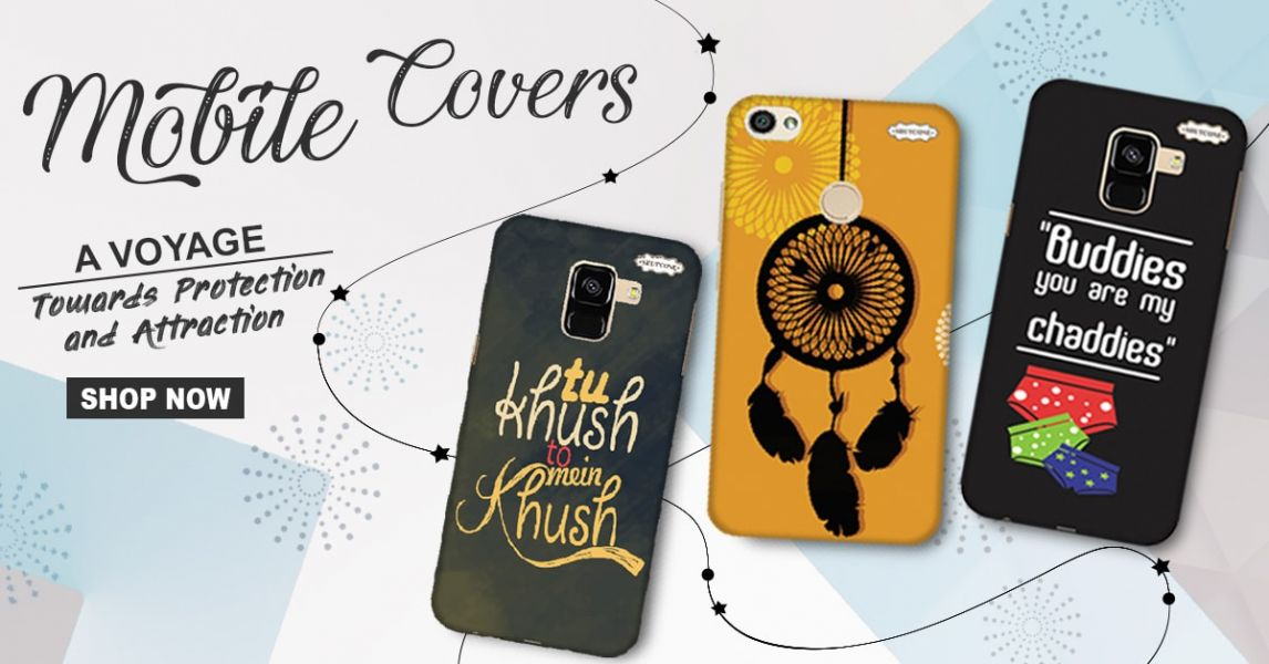 Buy Funky, Stylish And Designer Mobile Covers & Cases Online In India.