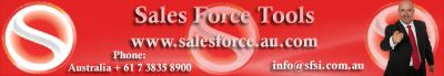 Sales Force Tools